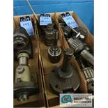 (LOT) MISC. MACHINE TOOLS, INCLUDING TAPPING HEAD, ADJUSTABLE BORING HEAD