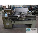 "16"" X 50"" LEBLOND REGAL ENGINE LATHE; S/N 40665, 12"" 3-JAW CHUCK, 2"" SPINDLE OPENING, SPINDLE SPEEDS"