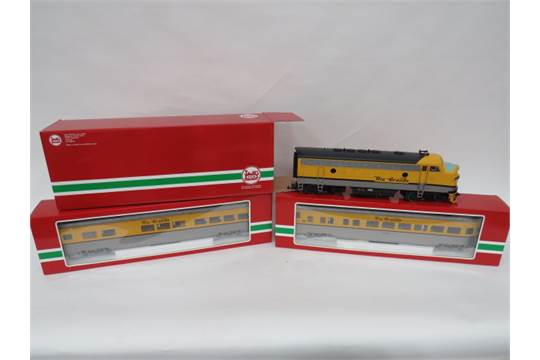 Large Scale LGB Diesel Locomotive III Rio Grande(20578