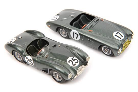 2 Provence Moulage Aston Martin Db3s In Metallic Green Rn25 Reg