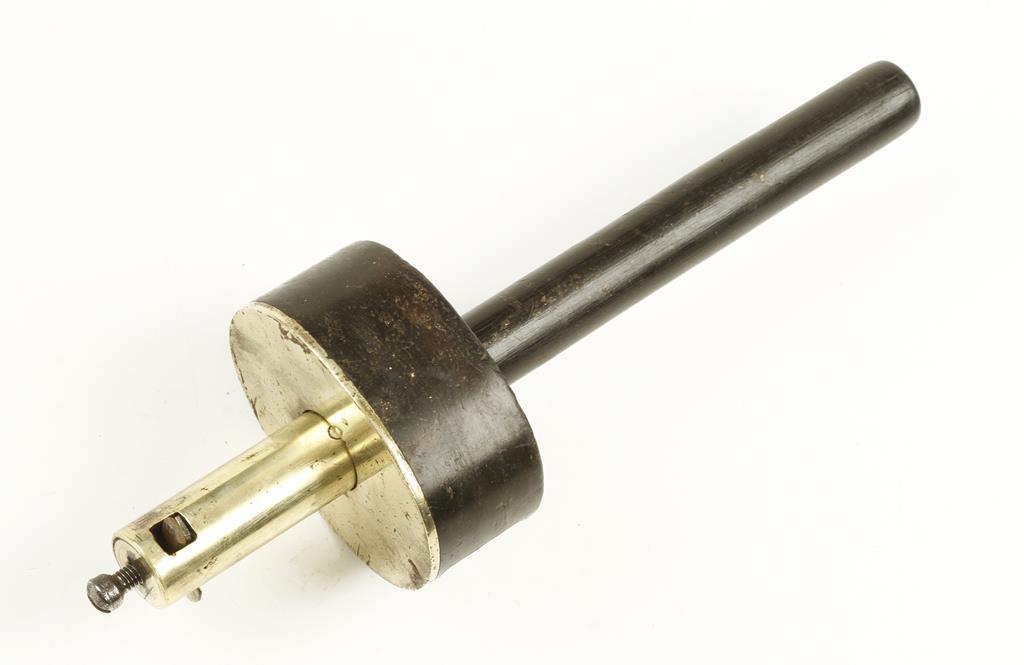 Lot 89 - An ebony and brass cutting gauge G