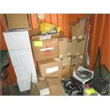 LOT ASSORTED PARTS , FILTERS, BEARINGS, SWITCHES, FUEL WATER SEPERATOR, COUPLINGS, RELAYS, PNEU.