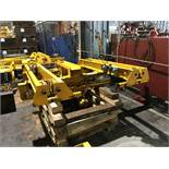 Useco 7' Span 3 Ton Single Girder Underslung Overhead Bridge Crane with Ingersoll Rand Hoist