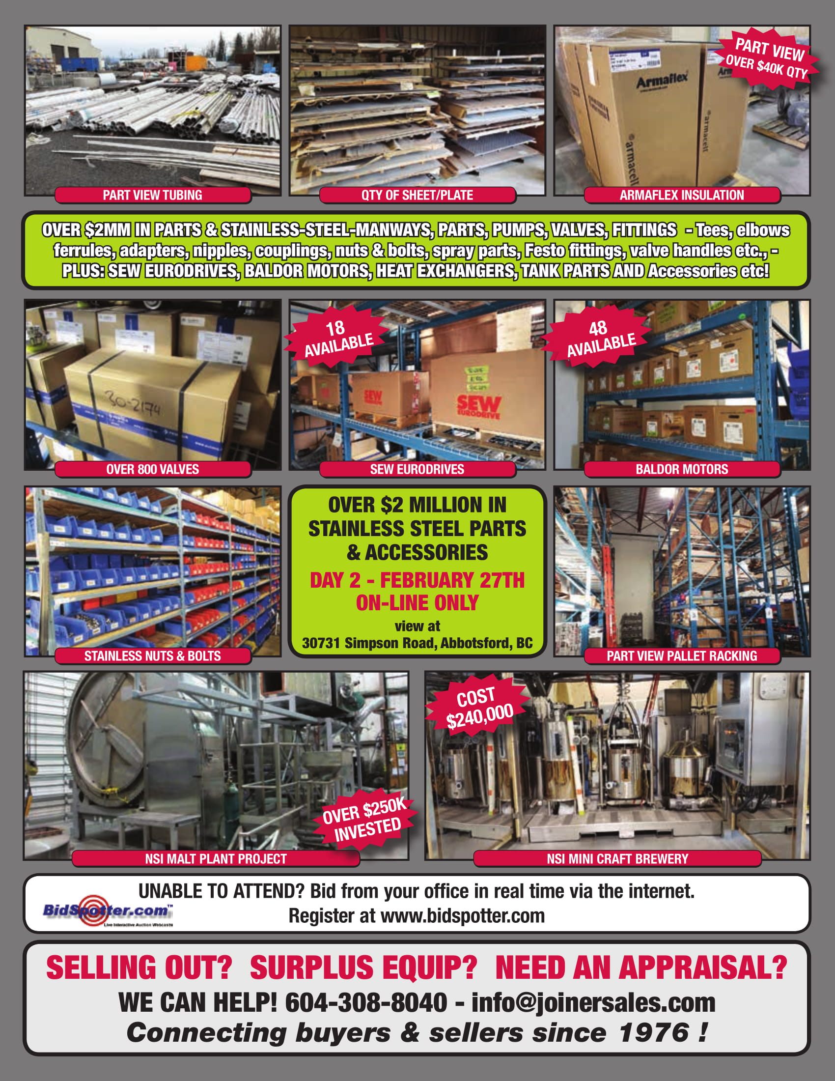 Lot 0 - COMPLETE LOT CATALOG NOW POSTED AND BEING UPDATED DAILY!!!
