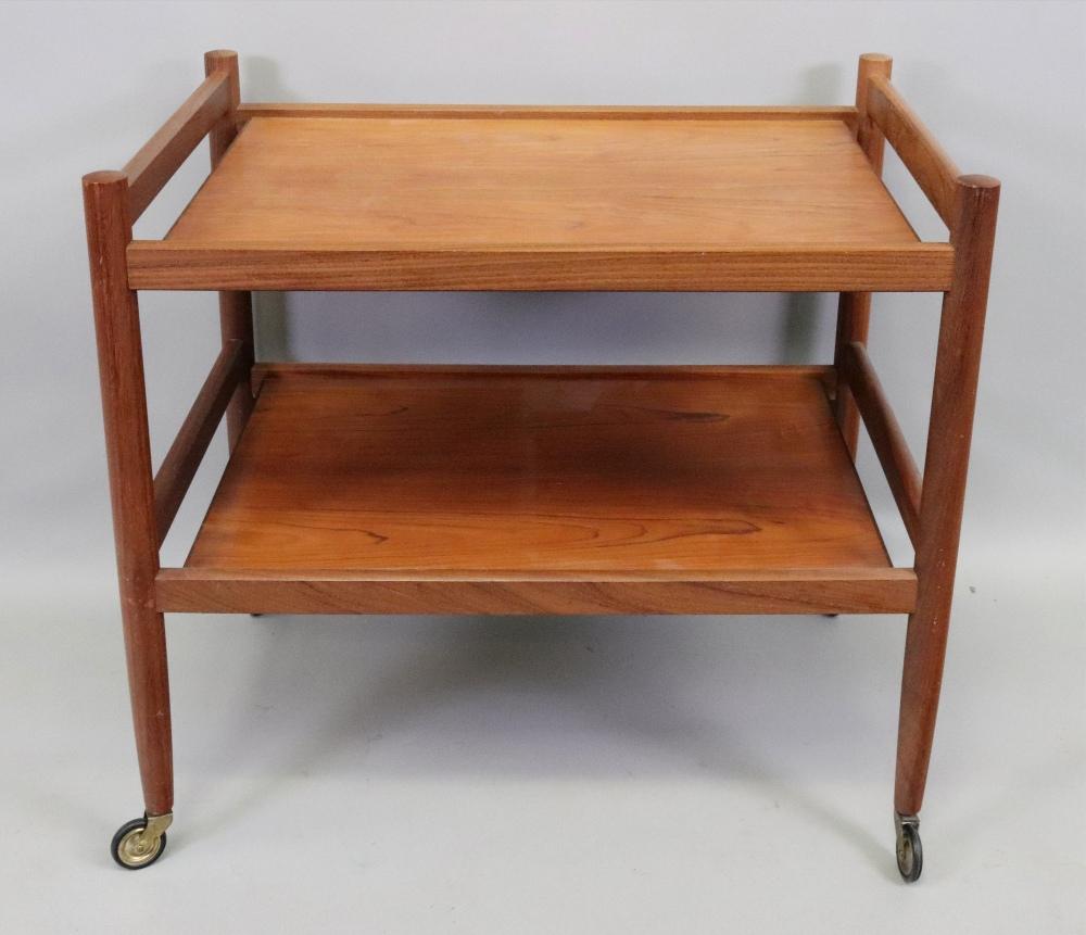 A retro Stewart Griffiths furniture teak