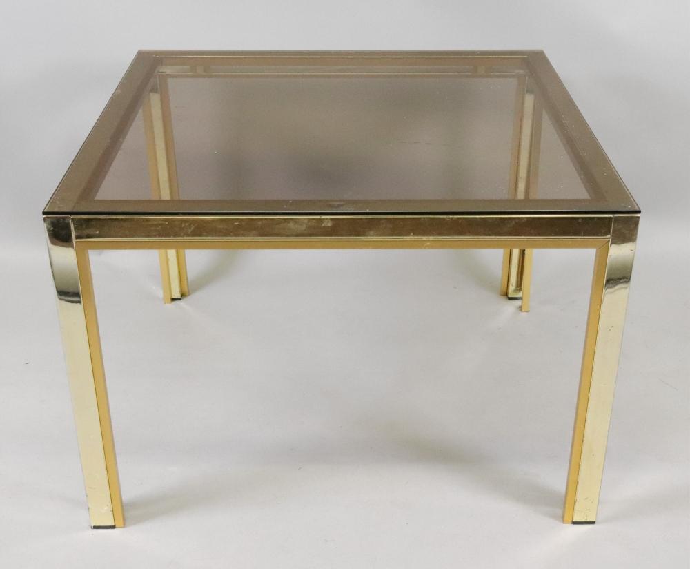 A square gilt metal frame low centre tab