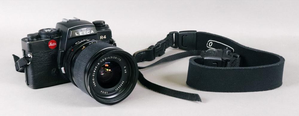 A Leica R4 camera, with a Leica Vario -
