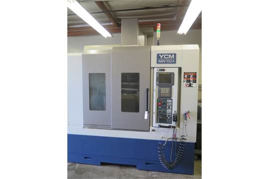 2006 YCM NSV102A CNC Vertical Machining Center s/n 0027 w