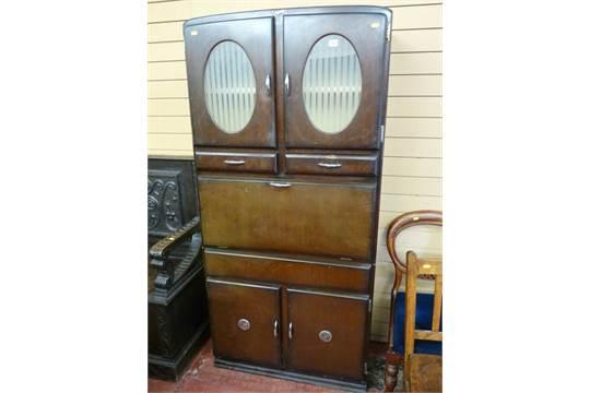 A Shefco Kitchen Cabinet
