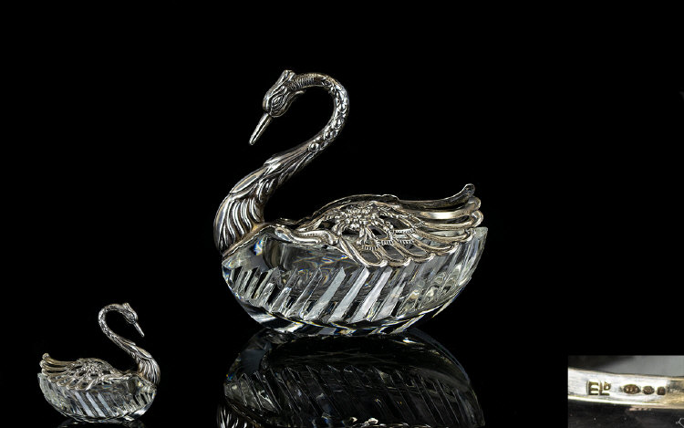 Lot 118 - West German 1970's Sterling Silver And C