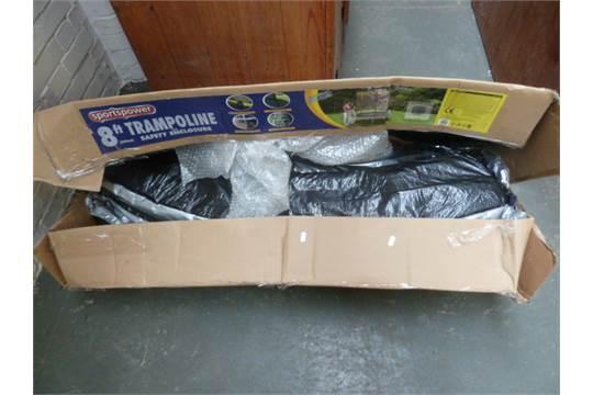 A New Sportspower 8ft Trampoline In Box