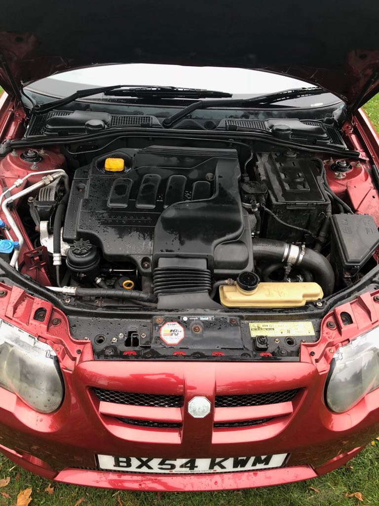 Lot 91 - 2004/54 REG MG ZT-T+ CDTI 135 RED DIESEL ESTATE *NO VAT*