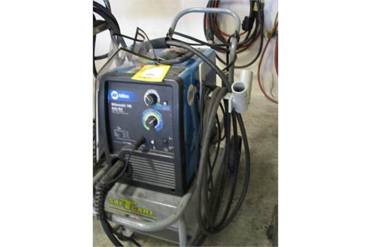 Awesome Miller Millermatic 180 Auto Set 230 V Wire Welder Wiring Digital Resources Indicompassionincorg