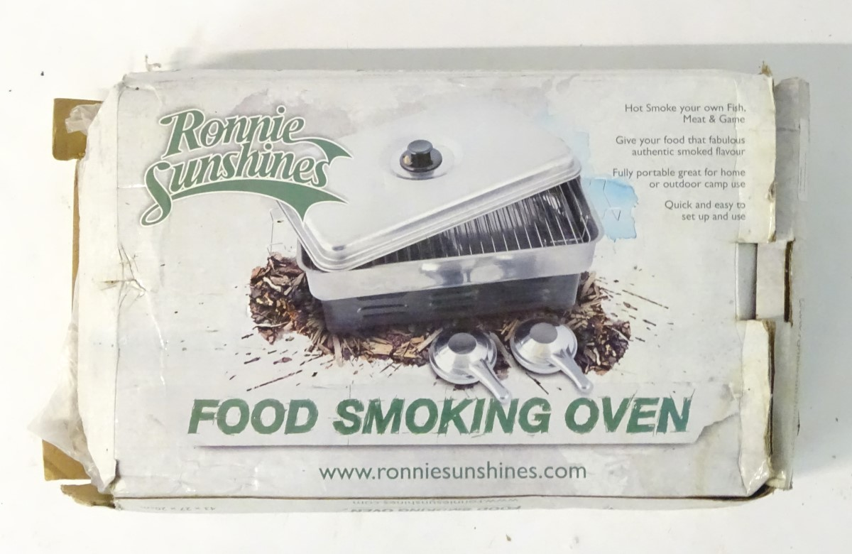 A food smoking oven, Ronnie Sunshines Hot Smoker, - Image 3 of 5