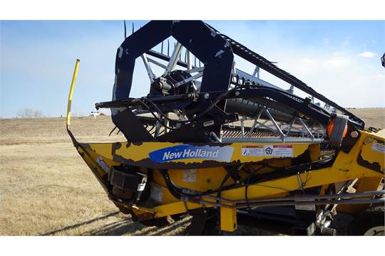 New Holland H8040 Self Propelled swather with 36' Header