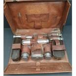 Vintage Gentleman's Grooming Kit is Small Suitcase
