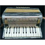 Vintage Hohner Mignon II Piano Accordion and Box