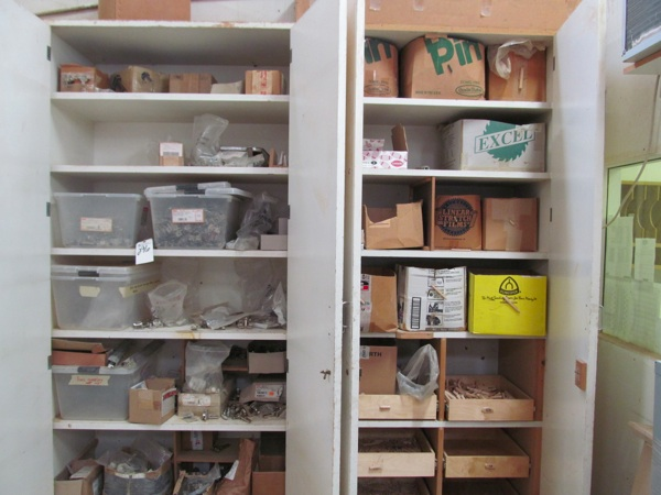 Lot 296 - (Lot) (2) Cabinets w/ Hardware & Misc. Cont.