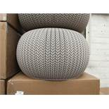 Keter Knit Collection - Cozy Seat - New with Tags & Boxed.
