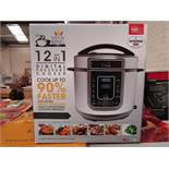| 1X | PRESSURE KING PRO 12 IN 1 DIGITAL PRESSURE AND MULTI COOKER | REFURBISHED AND BOXED | NO