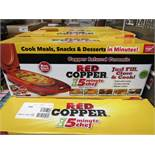 | 1X | RED COPPER ELECTRIC MEAL MAKER | UNCHECKED AND BOXED | NO ONLINE RE-SALE | SKU - | RRP £29.99