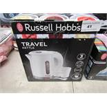 Russell Hobbs travel kettle - Boxed & Unchecked.