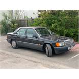 1990/G REG MERCEDES 190D DIESEL AUTO 4 DOOR SALOON BLACK 2.5L - VERY RARE CAR! *NO VAT*