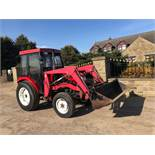 SIROMER 354 TRACTOR WITH LOADER, SHOWING 253 HOURS, 4 WHEEL DRIVE, RUNS, WORKS AND LIFTS *PLUS VAT*