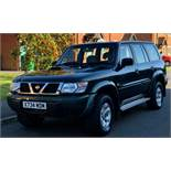 NISSAN PATROL GR 3.0 SE 4X4 SEAT 88K MILES STARTS AND DRIVES WELL