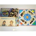 A vintage STARSKY and HUTCH board game by ARROW GAMES - G/VG in G box