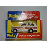 A DINKY 254 POLICE Range Rover - VG in G box, slight crushing