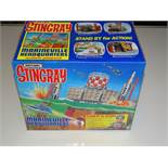 A MATCHBOX STINGRAY (GERRY ANDERSON) MARINE VILLE Headquarters play set - as new - boxed - VG/E in