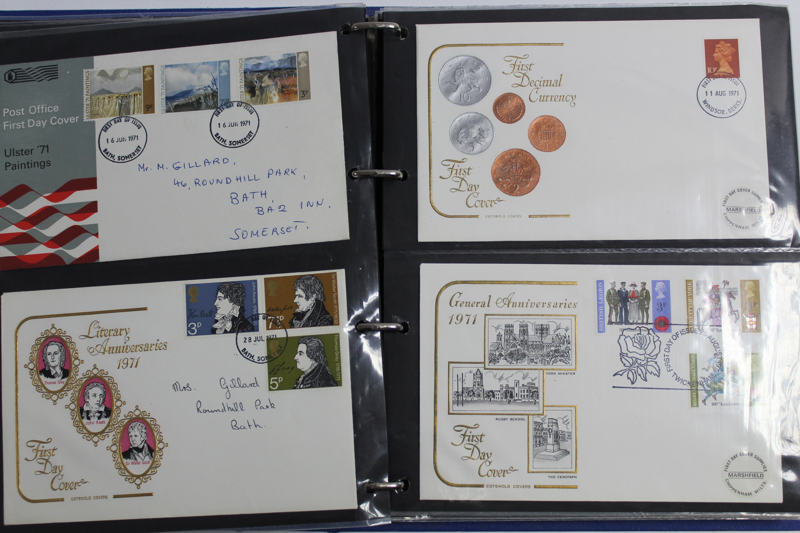 Lot 293 - A collection of 120 First Day & other coves, circa 1966-74, mostly G. B., & including some