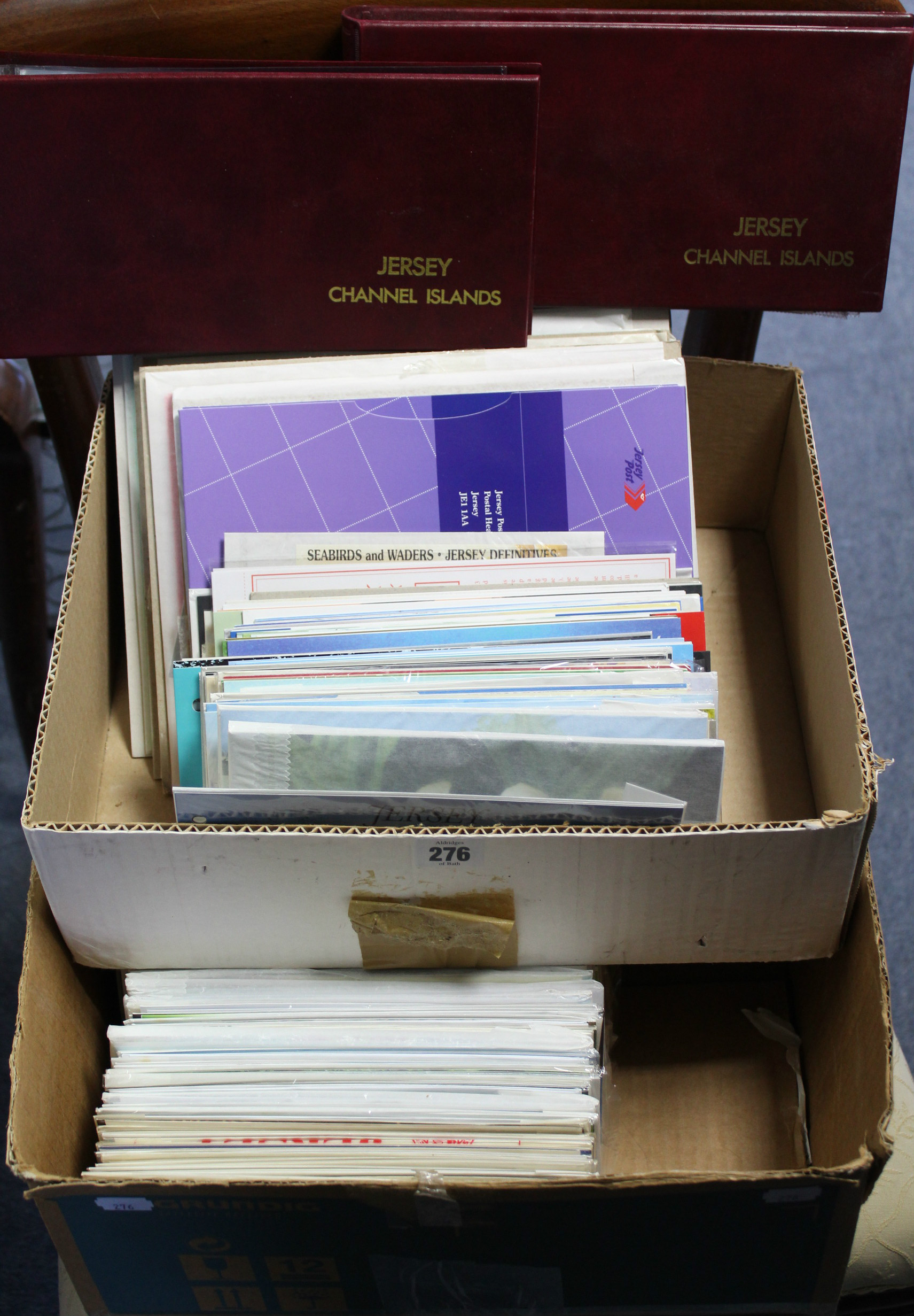 Lot 276 - A collection of approximately 225 Jersey First Day covers, circa 1980's onwards; & a large
