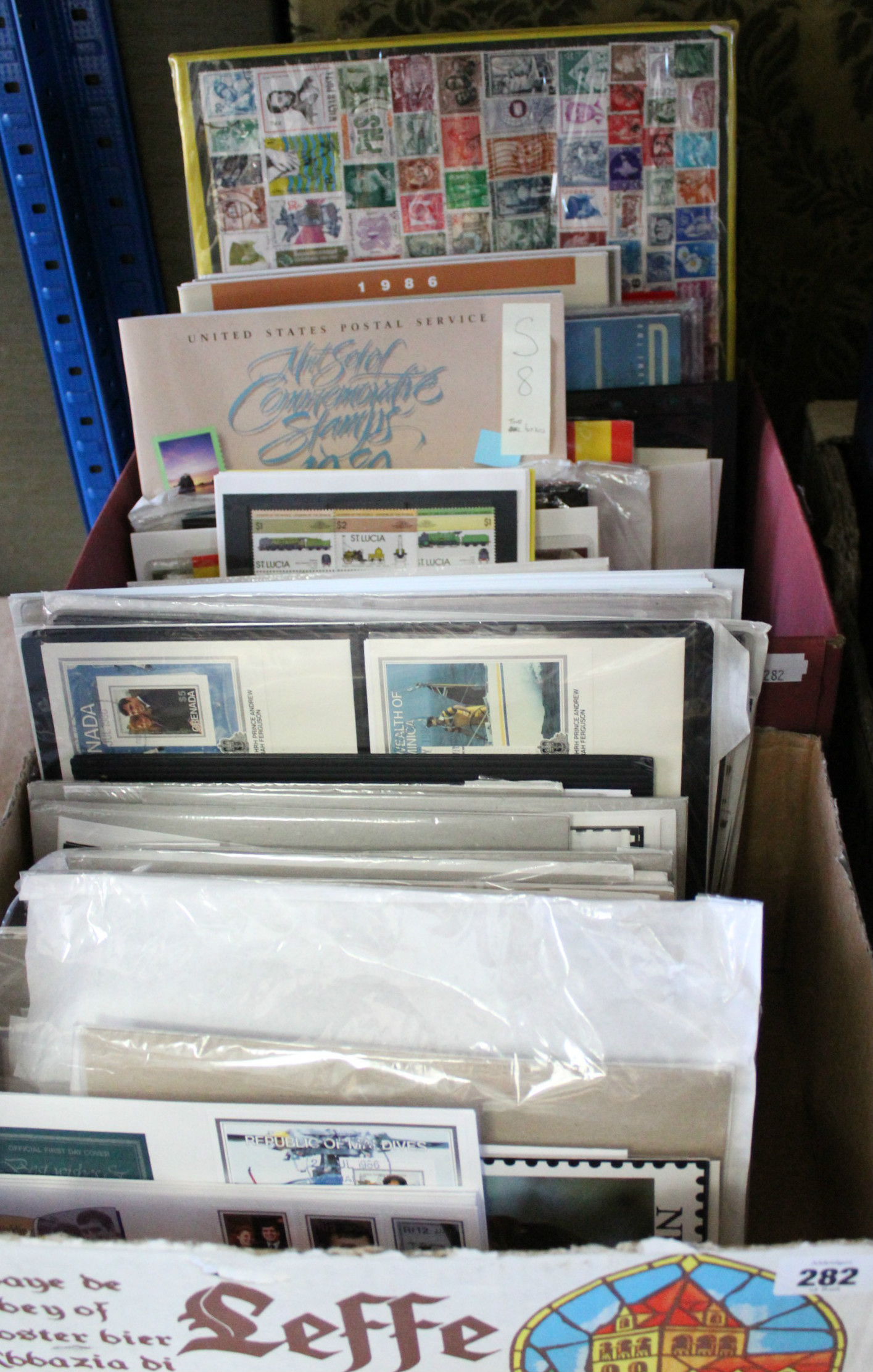 Lot 282 - A quantity of various Commonwealth & foreign stamps; covers, booklets, etc.