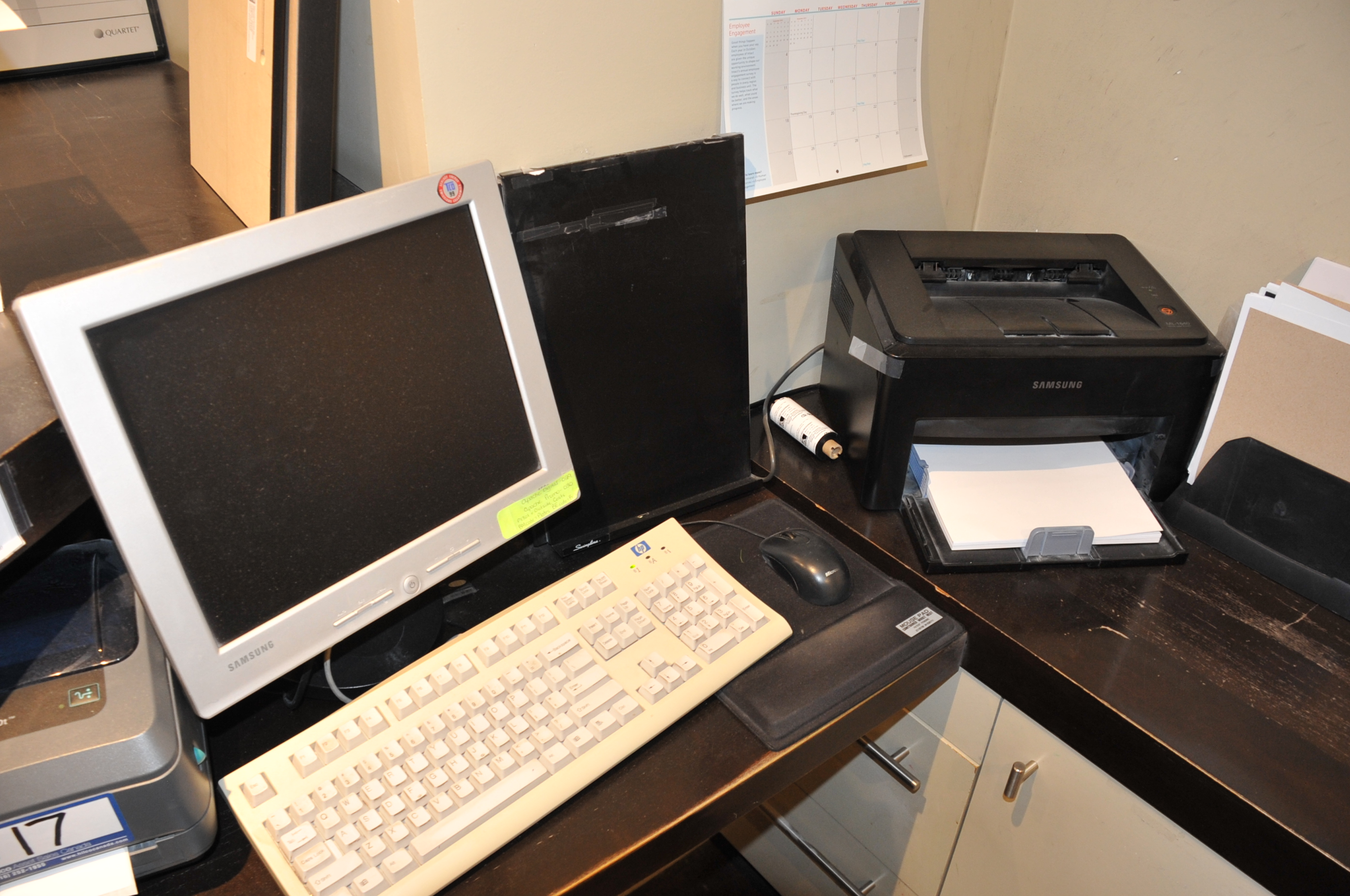 """Velocity Model Core 2 Duo Computer; with Saumsung 15"""" LCD Monitor, Samsung Printer - Image 2 of 2"""