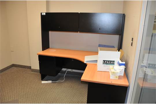 New Lot Of Hon Office Furniture Fixtures Amp Equipment LShaped Desk With