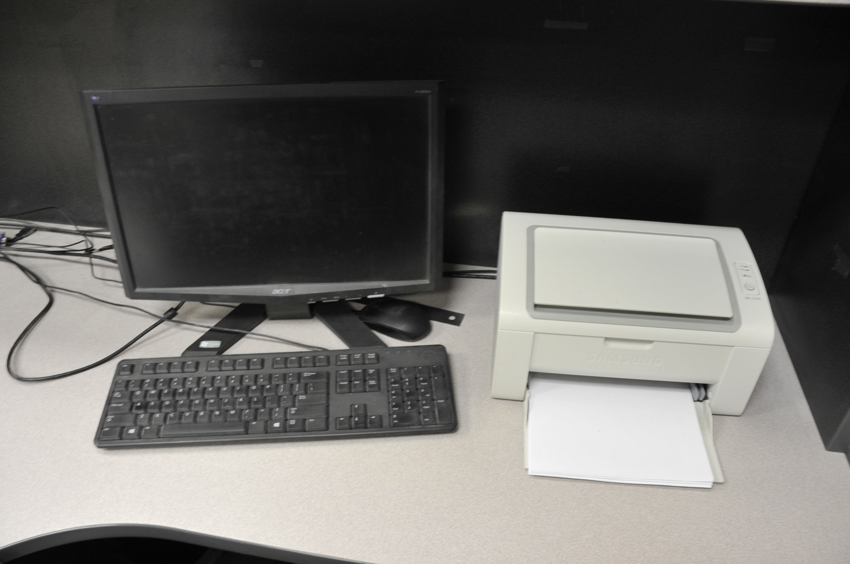 Antec Computer; with LCD Monitor, Printer - Image 2 of 2