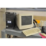 Lot of IBM Model P4 Computer; with Monitor, Scanner