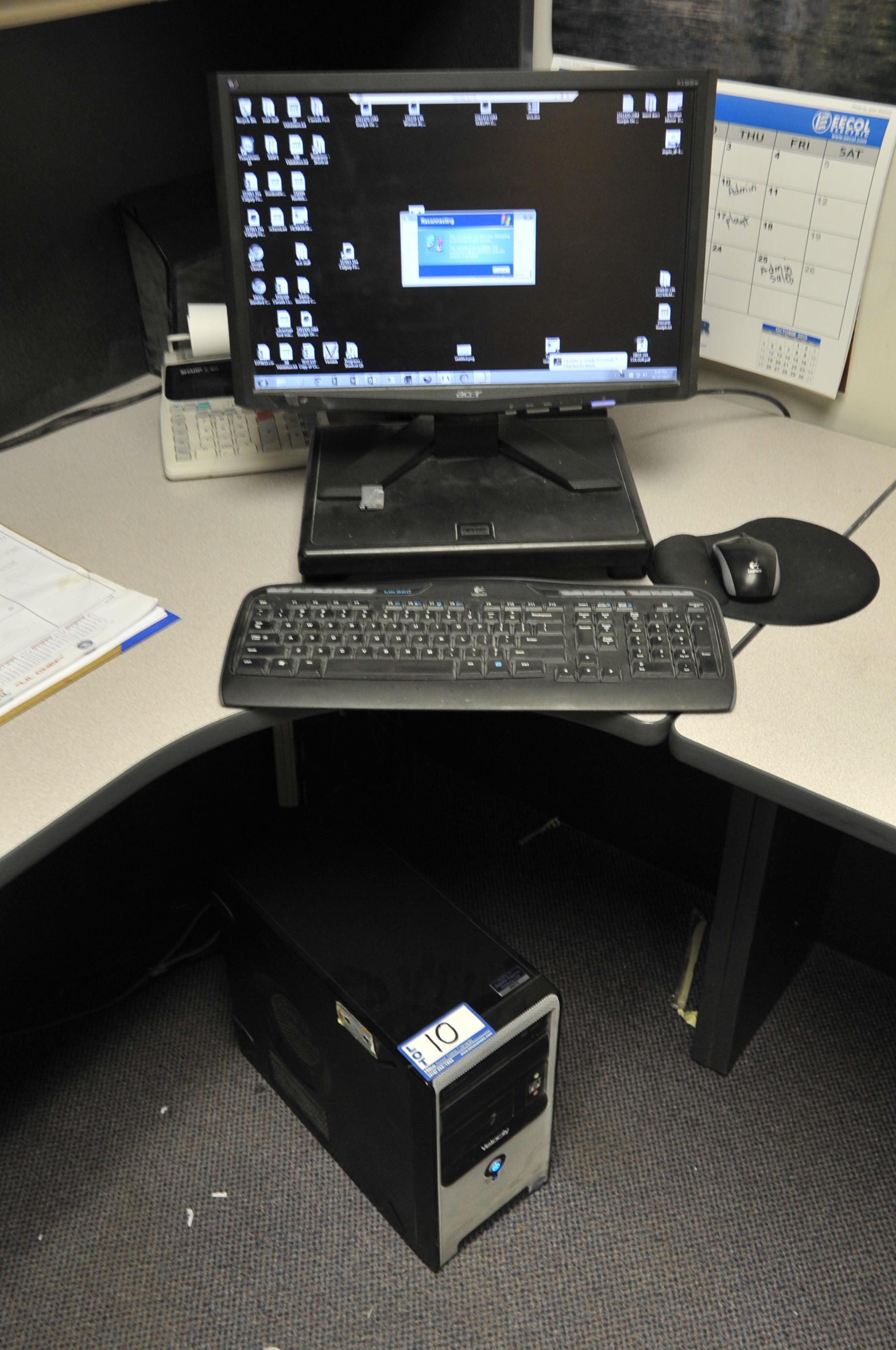 """Velocity Model Core 2 Computer; with Acer 19"""" LCD Monitor"""