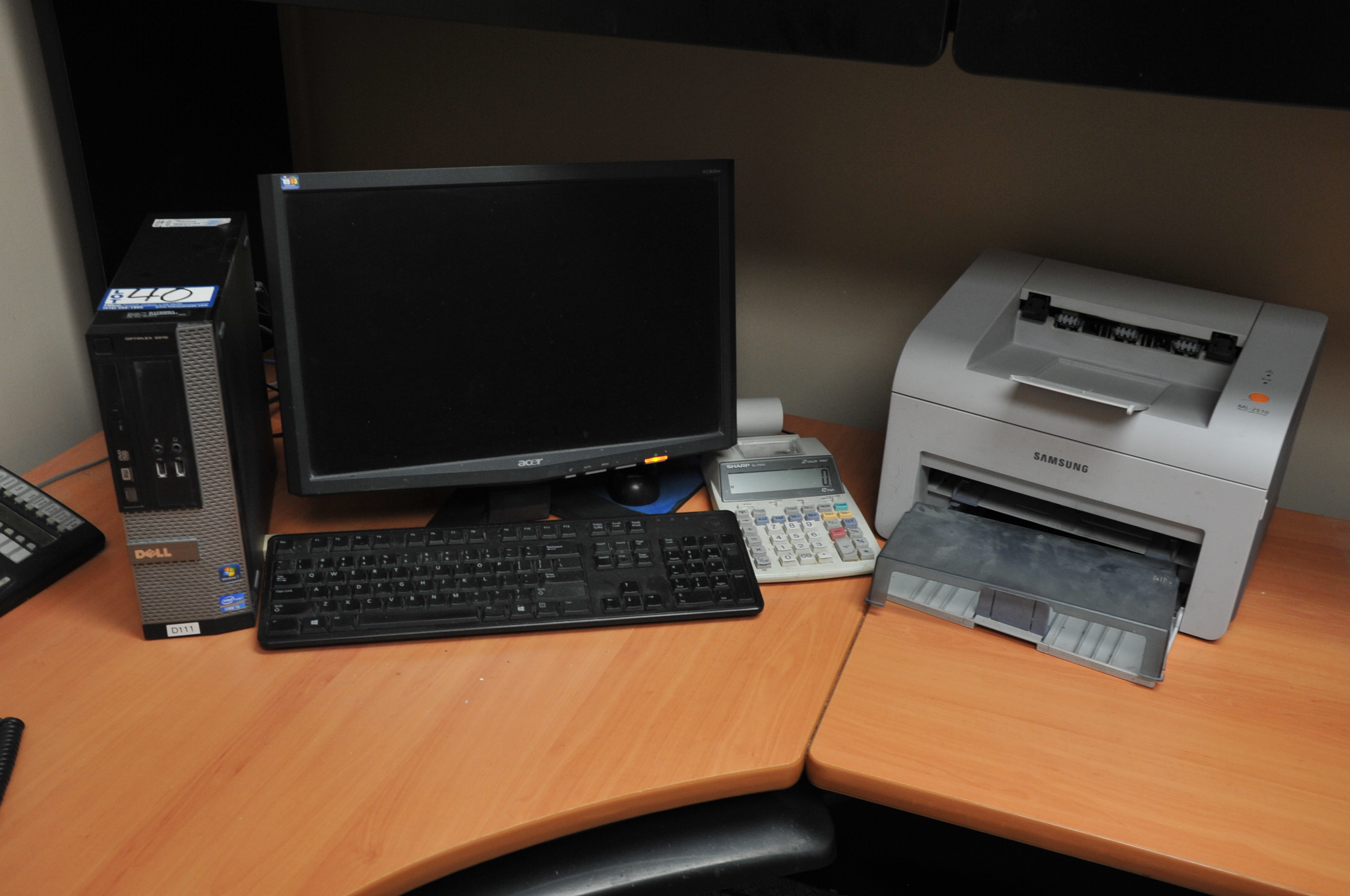 """Dell Model Optiplex 3010 Core I5  Computer; with 19"""" Acer LCD Monitor"""
