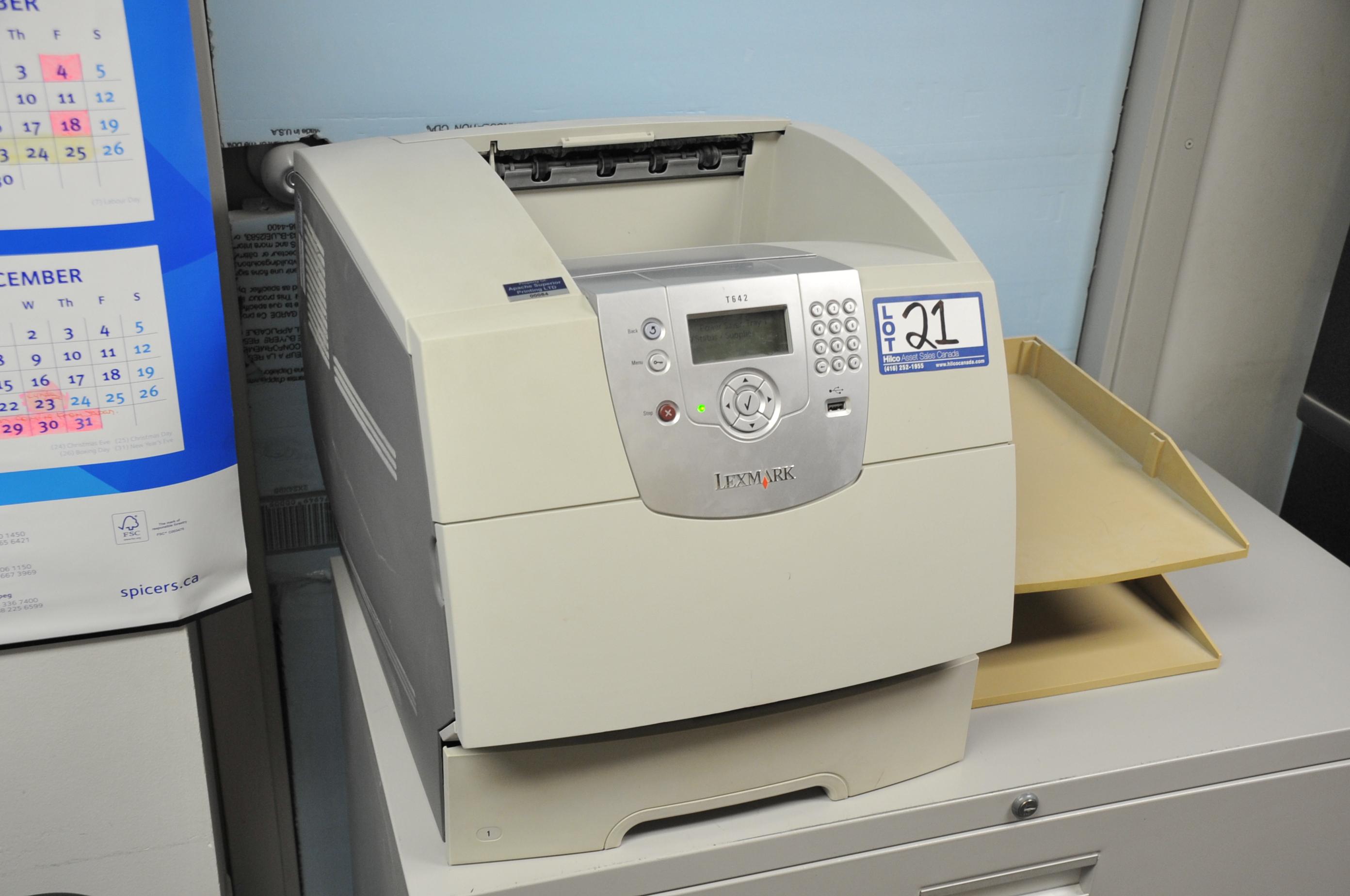 Lexmark Model T642 Printer