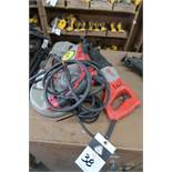 Milwaukee Electric Beam Band Saw and Saw-Zall (SOLD AS-IS - NO WARRANTY)