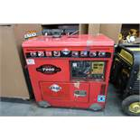 Tahoe TPI7000LXH 7000 Watt Diesel Powered Portable Generator (SOLD AS-IS - NO WARRANTY)