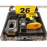 DEWALT, DC759 18V BATTERY POWERED DRILL WITH CHARGER
