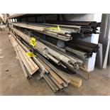 LOT OF STAINLESS SHEETS, SQUARE & ROUND STOCK