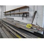 LOT OF STAINLESS SHEETS, SQUARE TUBE & FLAT STOCK