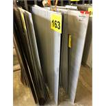"LOT OF (27) 18 GA., 48"" X 96"", STEEL SHEETS"
