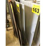 "LOT OF (17) 18 GA., 48"" X 96"", STEEL SHEETS"