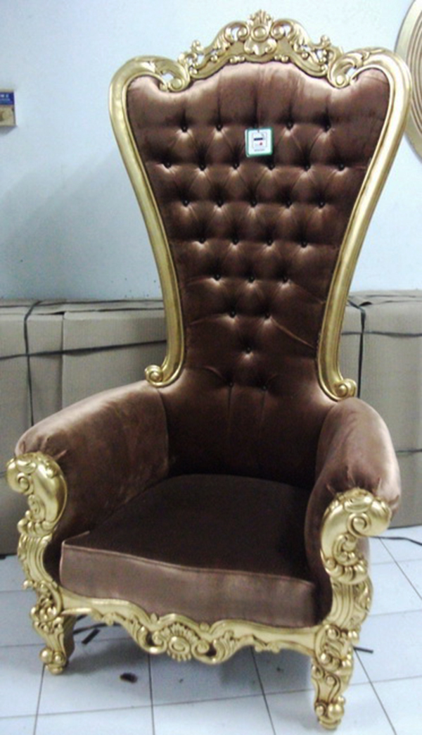 Absolom roche chair gold amber velvet the perfect for Furniture 96 taren point